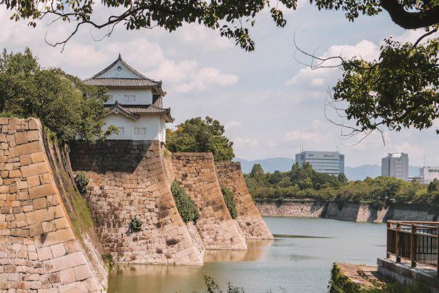 Sightseeing-kasteel van Osaka