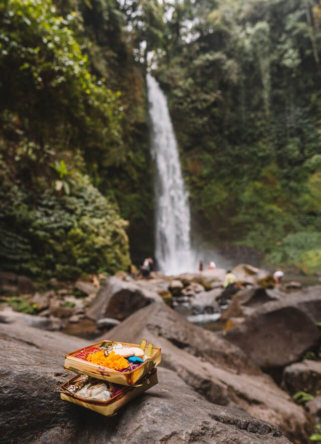Attracties op Bali Munduk Nung Nung waterval