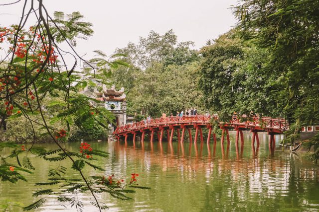 Attracties in Hanoi Hoan Kiem Lake