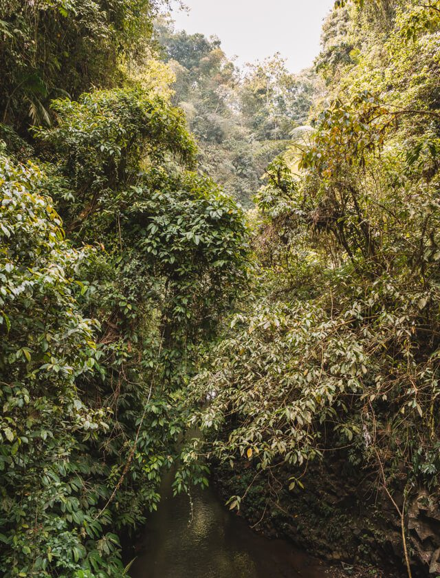 Munduk Bali Nung Nung waterval