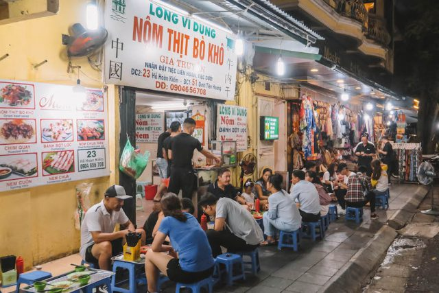 Street Food Tour Hanoi Nom