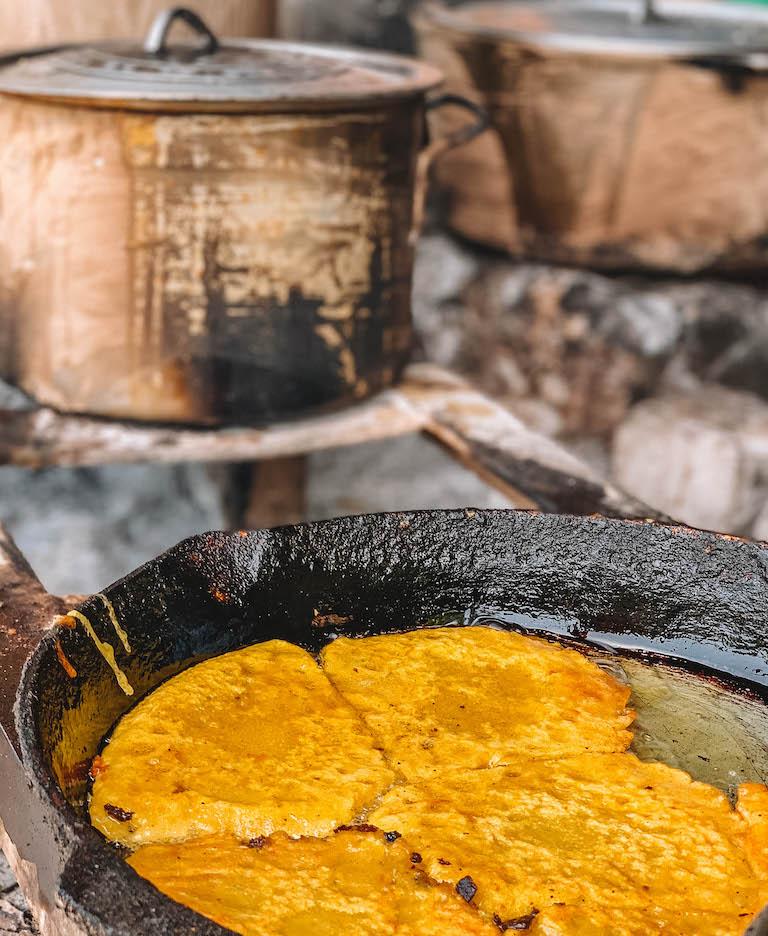 Caribische keuken Jamaica voedsel kraam
