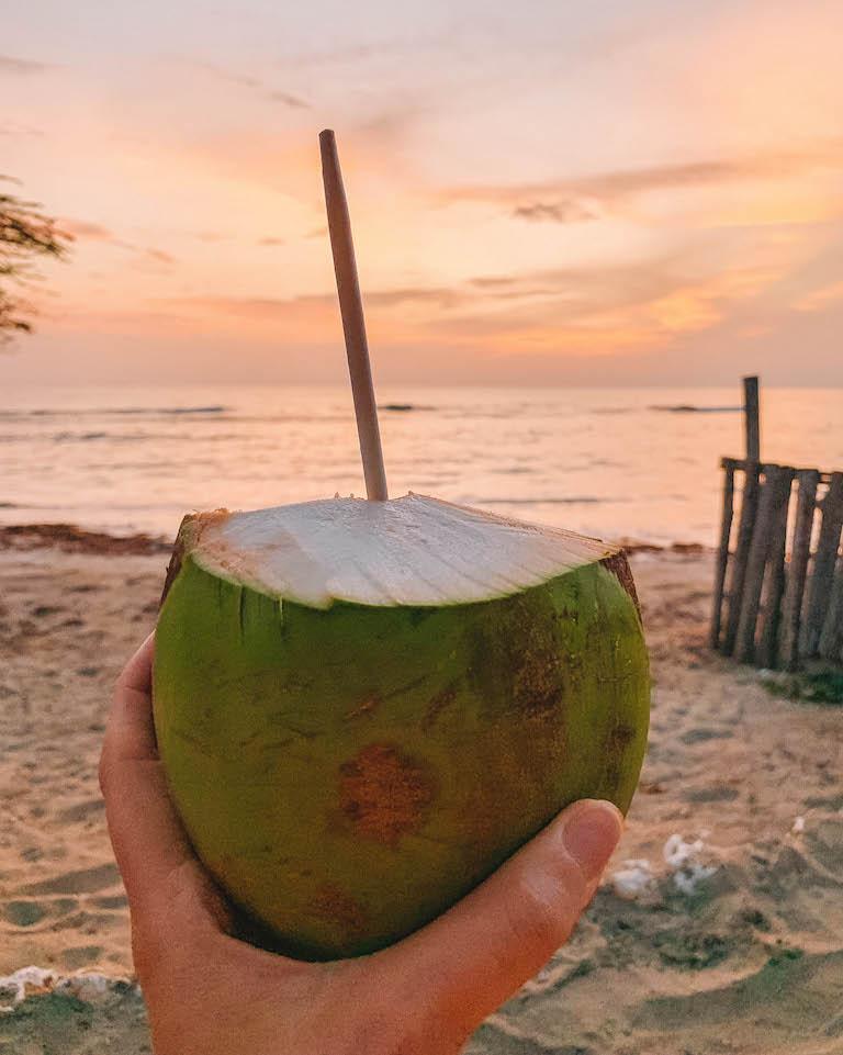 Caribische kokos keuken