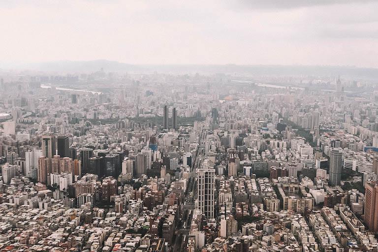 Attracties in Taipei 101 Uitzicht op de toren