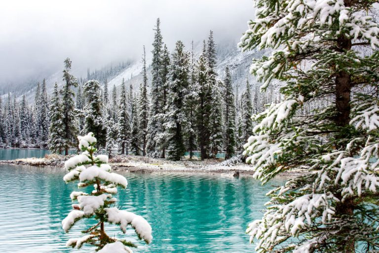 Jasper Canada Spirit Island