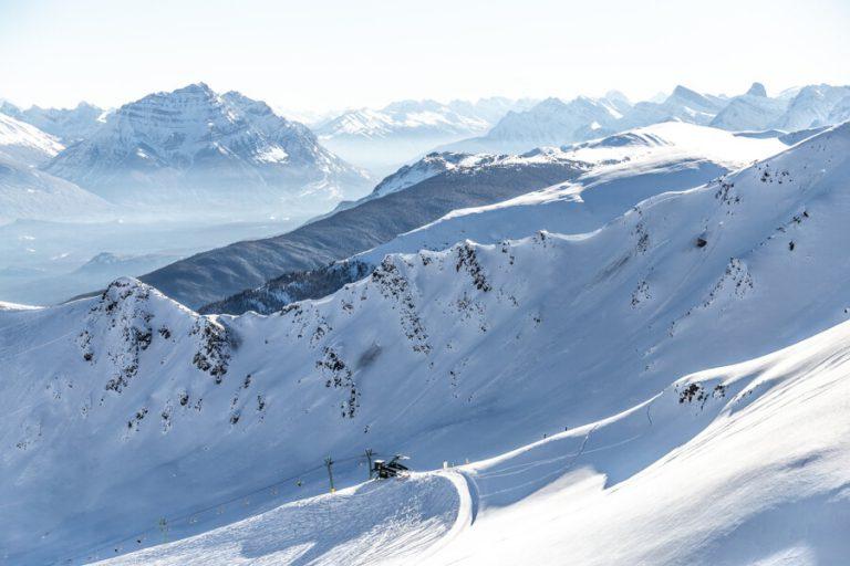 Marmot Basin skigebied Canada