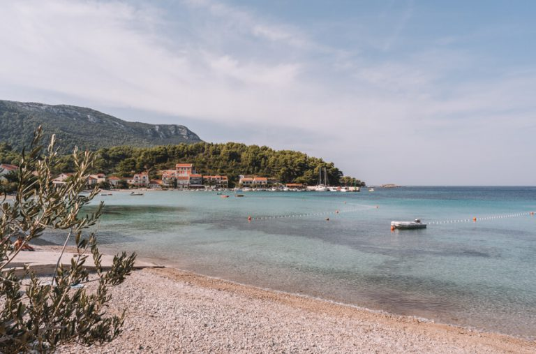 Zuljana strand Peljesac-schiereiland Kroatië