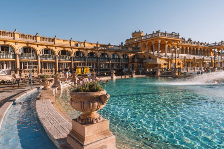 Boedapest attracties Szechenyi thermaal thermaal bad