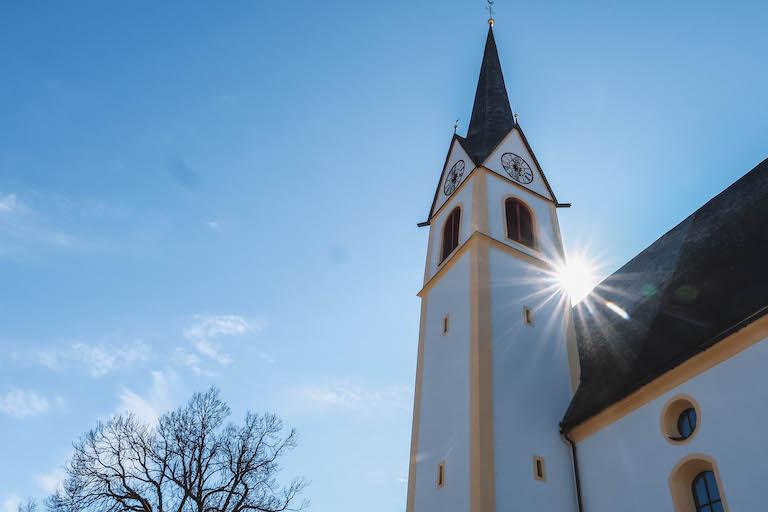 Fieberbrunn kerk Pillerseetal