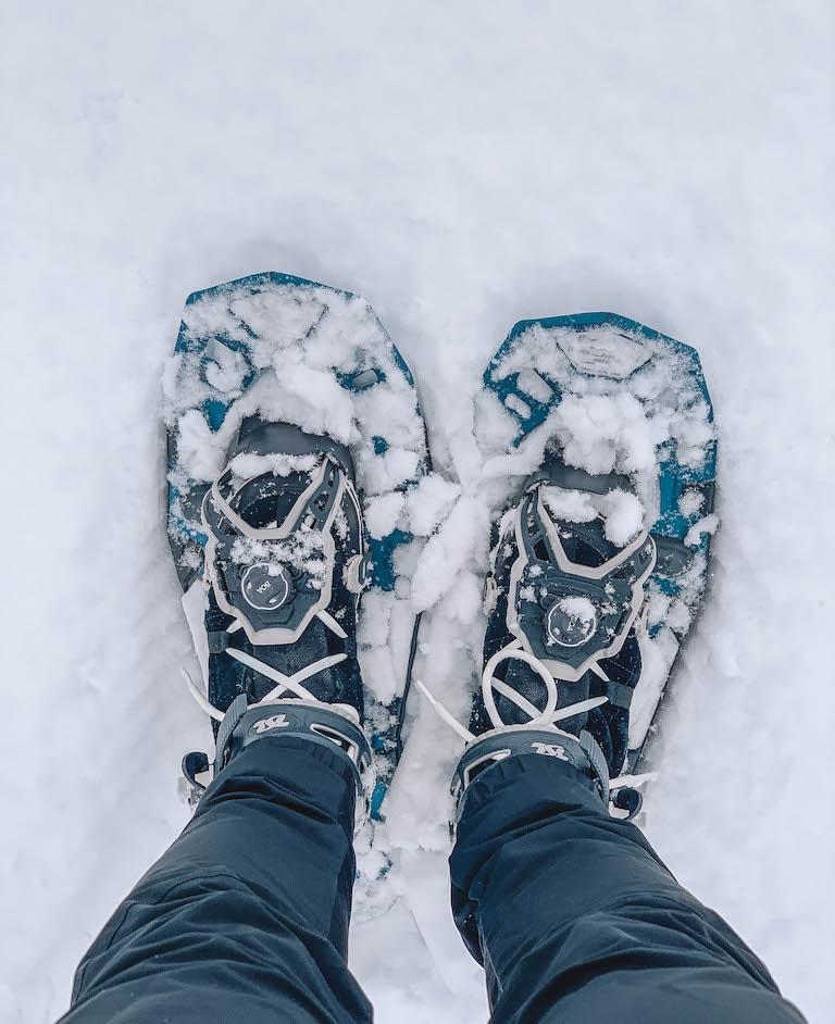 Pillerseetal sneeuwschoenwandeling