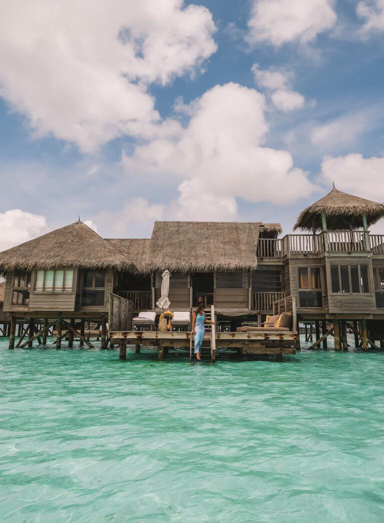 Gili Lankanfushi Resort Over Water Villa Lagoon