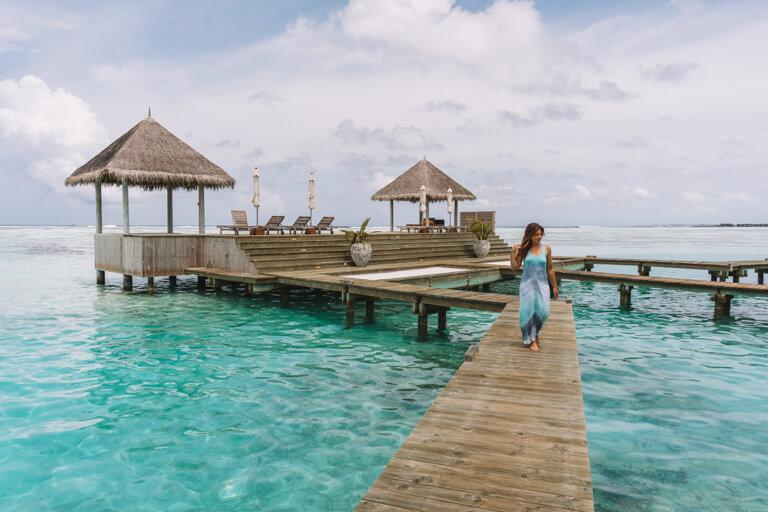 Gili Lankanfushi Resort Over Water Villa mooiste eiland van de Malediven