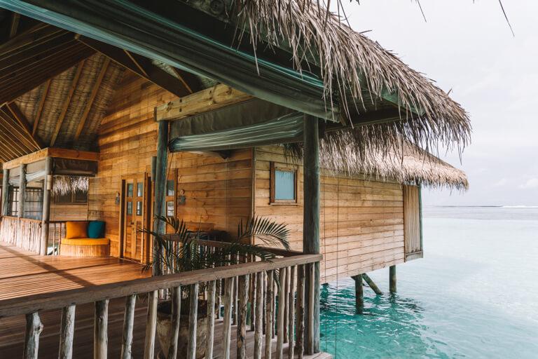 Gili Lankanfushi Resort Over Water Villa Mooiste eilanden van de Maldiven