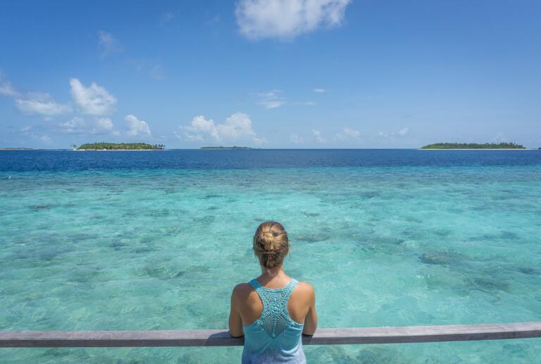 Mooiste eiland van de Maldiven Indische Oceaan