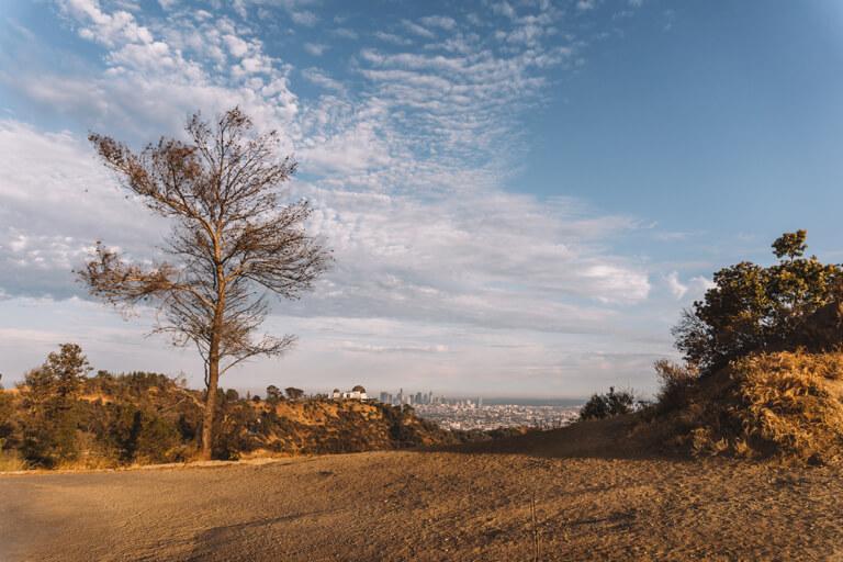 Vooruitzichten van Hollywood Hills