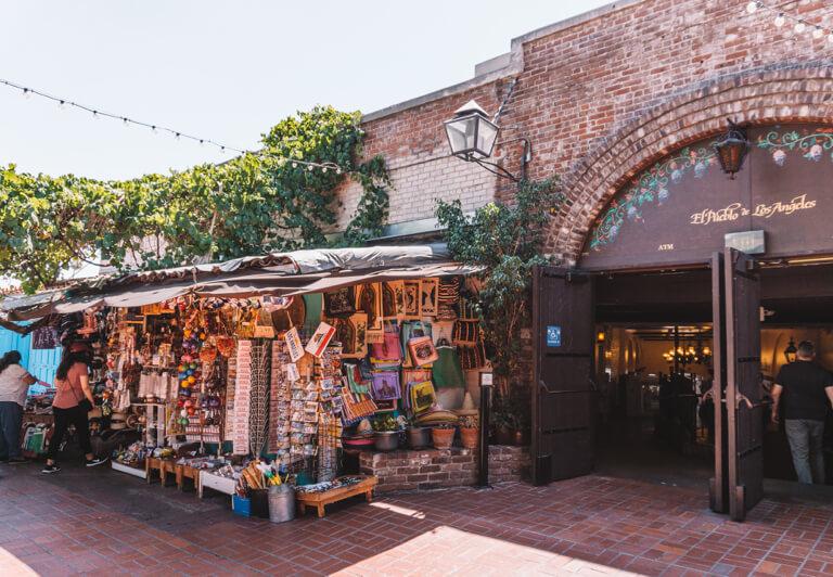 El Pueblo de Los Angeles Olvera Street Mexico Market