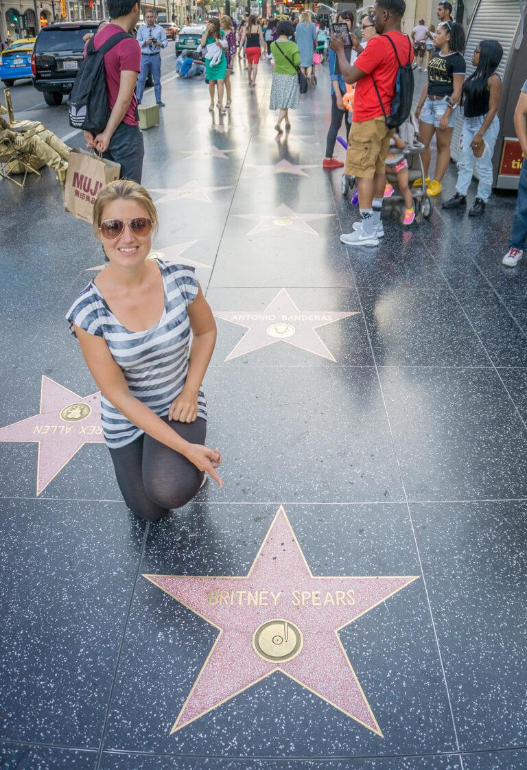 Hollywood Walk of Fame LA-2