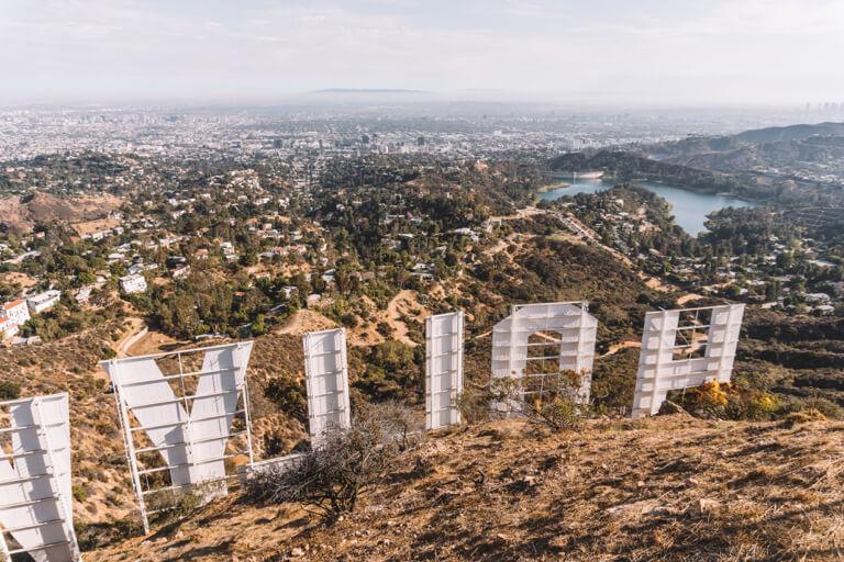 Los Angeles bezienswaardigheden Hollywood teken letters