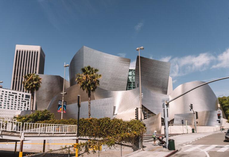 Los Angeles bezienswaardigheden Walt Disney Concert Hall