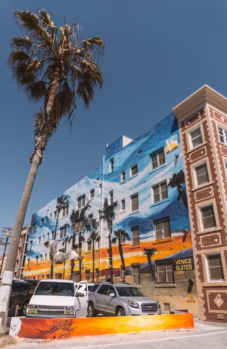 Venice Beach Street Art LA