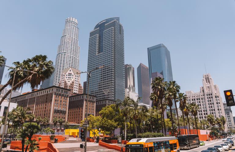 Downtown Los Angeles wolkenkrabbers