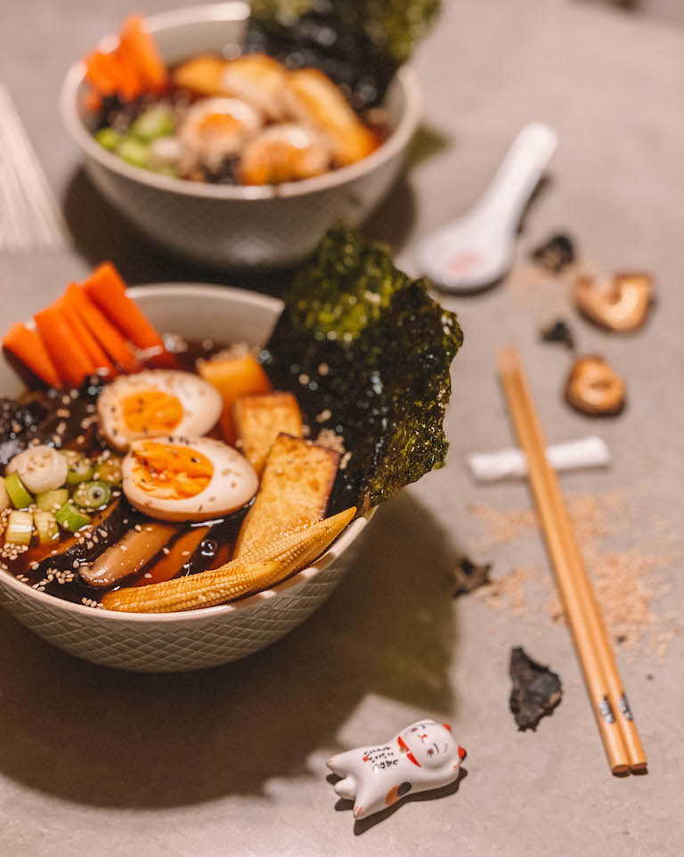 Ramen-recept Japan