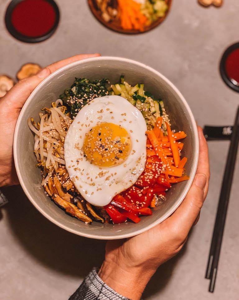 Koreaanse rijstkom