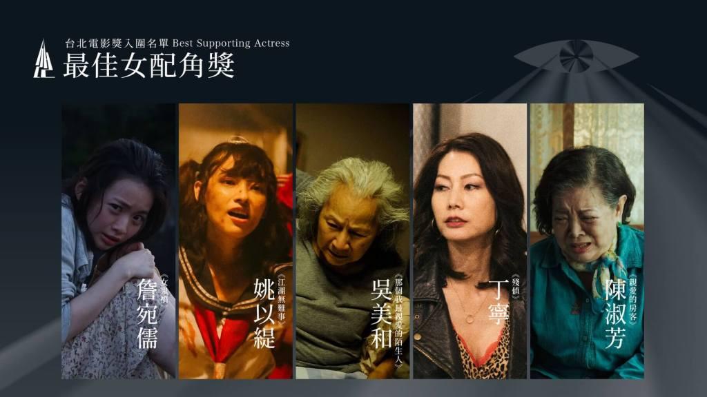 第22屆台北電影獎最佳女配角入圍名單