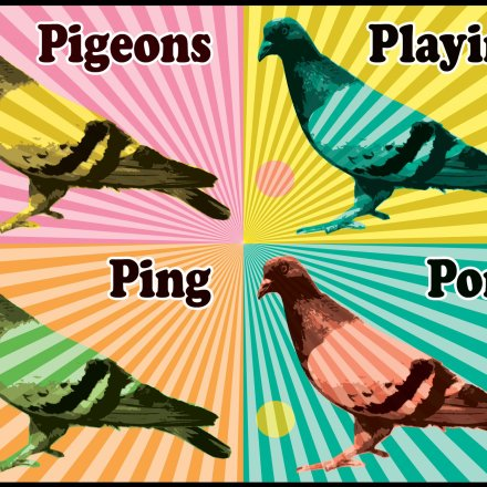 Summer Camp Series: Pigeons Playing Ping Pong [INTERVIEW]