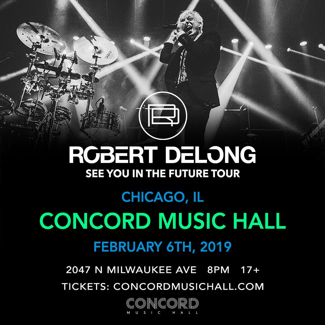 Robert DeLong @ Concord Music Hall (2/6/19) [GIVEAWAY]