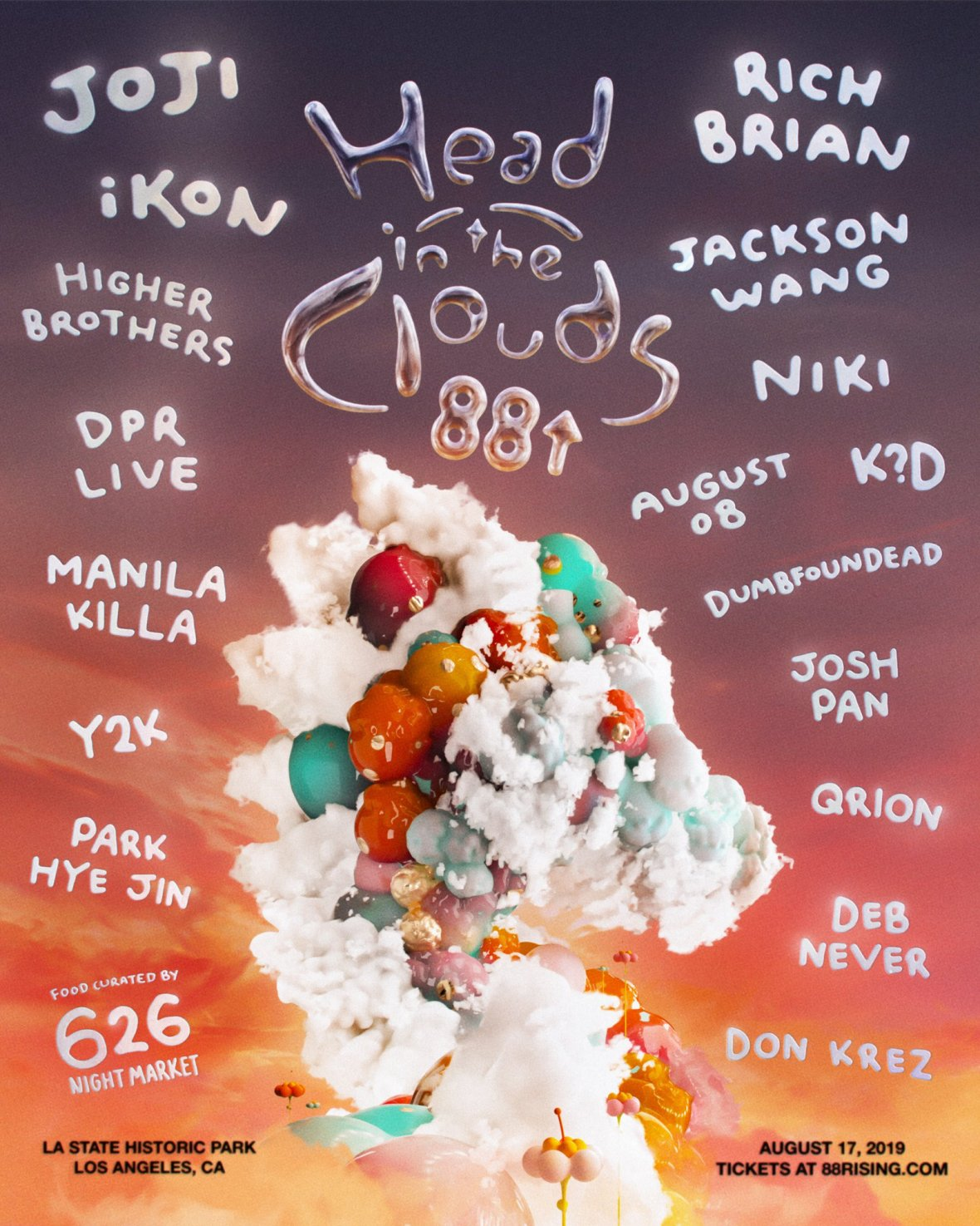 Head In The Clouds Music & Arts Festival Returns to LA State Historic Park on August 17