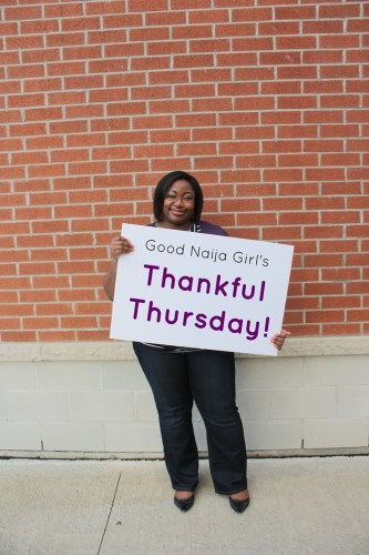 Thankful Thursday poster