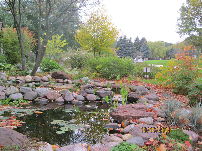 St Charles Project - Front yard landscape with less lawn ... on Front Yard Pond  id=49196