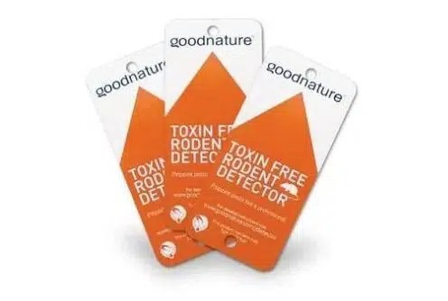 rodent detector cards from goodnature traps uk