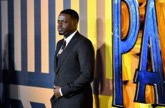 LONDON, UK – FEBRUARY 08: Daniel Kaluuya attends the European Premiere of Marvel Studios' BLACK PANTHER at the Eventim Apollo in London on 8thFebruary 2018