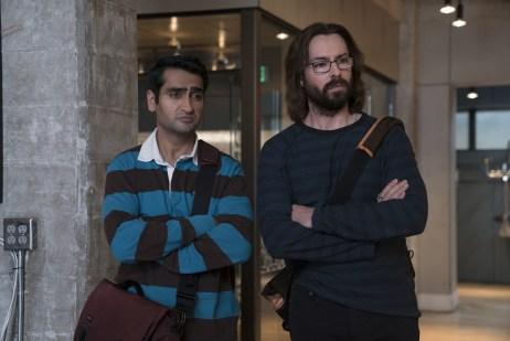 Kumail Nanjiani and Martin Starr_Silicon Valley S5