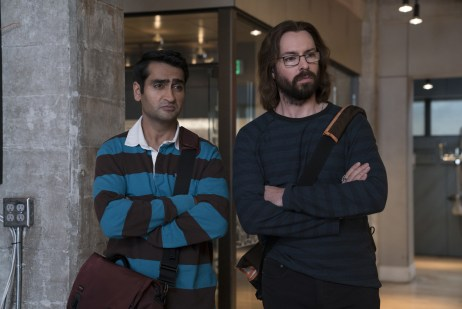 Kumail Nanjiani and Martin Starr_Silicon Valley S5