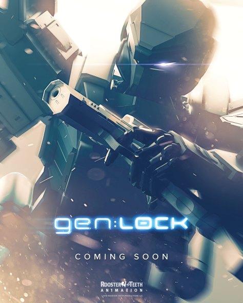 genLOCK Coming Soon Mech Poster