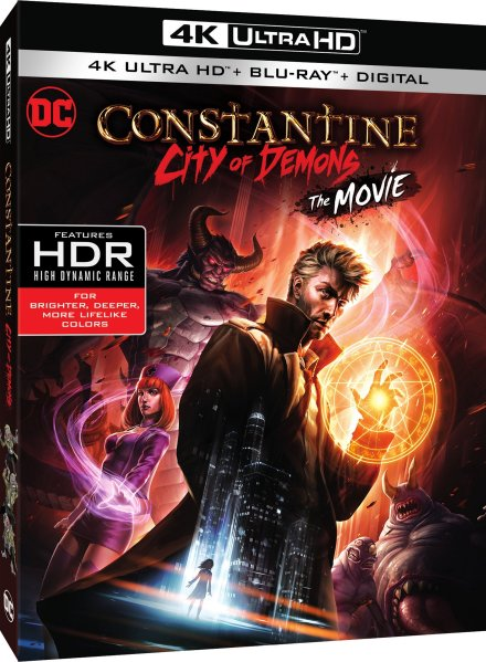 Constantine City of Demons 4K