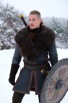 The Last Kingdom Series 3 Alexander Dreymon as Uhtred Portrait © Carnival Film & Television Limited 2018 Orbital Strangers
