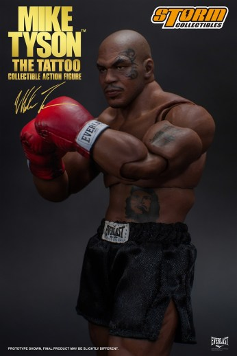 Storm Collectibles Mike Tyson Tattoo Pic 1