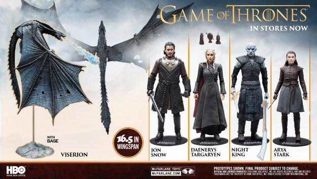 McFarlane Toys Game Of Thrones Figures Dragon May 2019