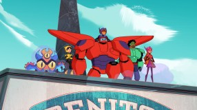"BIG HERO 6 THE SERIES - ""Internabout"" - Disney Channel has ordered a third season of the Emmy¨ Award-nominated animated ""Big Hero 6 The Series"" ahead of the season two premiere, MONDAY, MAY 6 (3:30-4:00 p.m. EDT/PDT) on Disney Channel. (Disney Channel) FRED, GO GO, BAYMAX, HIRO, WASABI, HONEY LEMON"