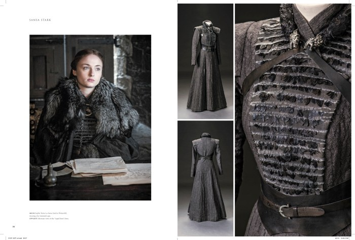 Sansa Stark coat + dress