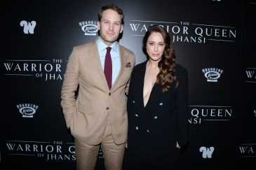"NEW YORK, NY - NOVEMBER 13: Ben Lamb and Jodhi May attend The Wing Hosts The World Premiere Of Roadside Attractions' ""The Warrior Queen Of Jhansi"" at Metrograph on November 13, 2019 in New York. (Photo by Paul Bruinooge/PMC) *** Local Caption *** Ben Lamb;Jodhi May"
