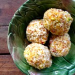 tropical fruit nut balls (vegan)