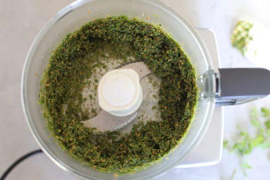 walnut parsley pesto - 2