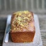lemon-sourdough pound cake (vegan)