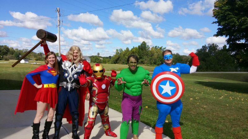 superhero sunday heros