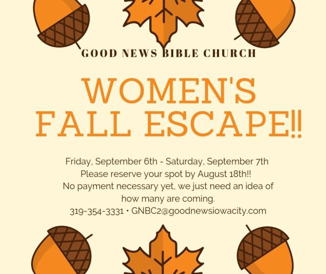 Women's Fall Escape